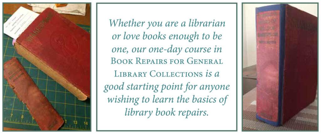 bookbinding library repairs